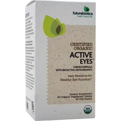 FUTUREBIOTICS Certified Organic - Active Eyes 90 tabs