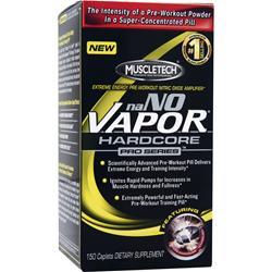 MUSCLETECH naNO Vapor Hardcore Pro Series 150 cplts
