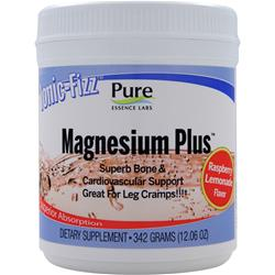 PURE ESSENCE LABS Ionic-Fizz Magnesium Plus Raspberry Lemonade 12 oz