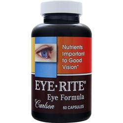 CARLSON Eye-Rite Eye Formula 60 caps