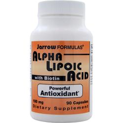 JARROW Alpha Lipoic Acid with Biotin 90 caps