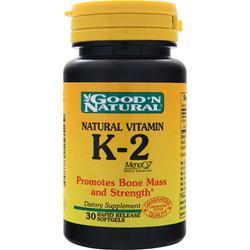 GOOD 'N NATURAL K-2 30 sgels