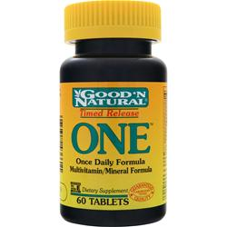 GOOD 'N NATURAL Timed Release ONE 60 tabs