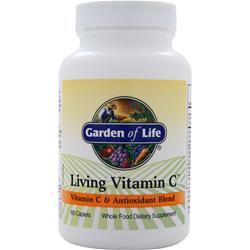 GARDEN OF LIFE Living Vitamin C 60 cplts