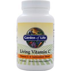 Garden Of Life Living Vitamin C 60 cplts