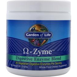 GARDEN OF LIFE Omega-Zyme - Digestive Enzyme Blend 81 grams