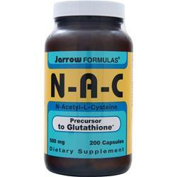 JARROW NAC - N-Acetyl-Cysteine (500mg) 200 caps