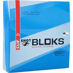 Clif Bar Clif Shot Bloks Tropical Punch with Caffeine 18 pckts