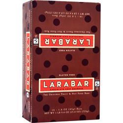 LARA BAR LaraBar Chocolate Chip Brownie 16 bars