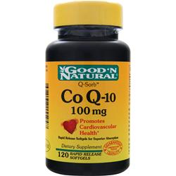 Good 'N Natural Co Q-10 (100mg) 120 sgels