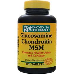Good 'N Natural Glucosamine Chondroitin MSM 120 tabs