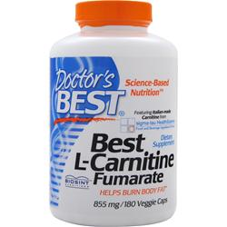 Doctor's Best Best L-Carnitine Fumarate (885mg) 180 vcaps