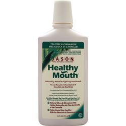 JASON Healthy Mouth Mouthwash Tea Tree & Cinnamon 16 fl.oz