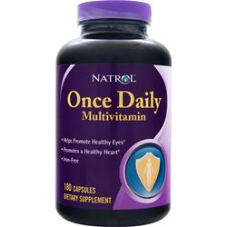 NATROL Once Daily Multivitamin Iron-Free 180 caps