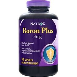 NATROL Boron Plus (3mg) 240 caps