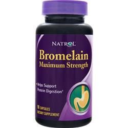 NATROL Bromelain Maximum Strength 90 caps