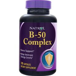 Natrol B-50 Complex 100 caps