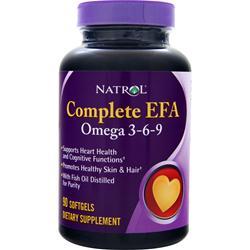 Natrol Complete EFA 3-6-9 90 sgels