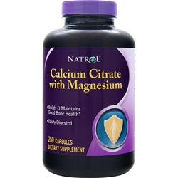 NATROL Calcium Citrate with Magnesium 250 caps