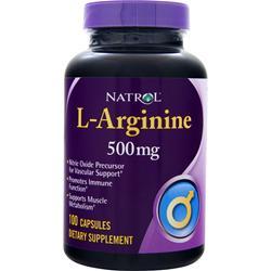 Natrol L-Arginine (500mg) 100 caps