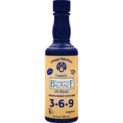 Omega Nutrition Essential Balance Oil Blend 3-6-9 12 oz