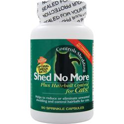 PL360 Shed No More plus Hairball Control for Cats Fish Flavor 90 caps