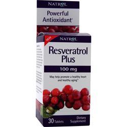 Natrol Resveratrol Plus (100mg) 30 tabs