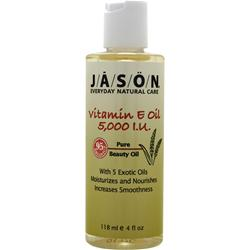 JASON Vitamin E Oil (5,000 IU) 4 fl.oz