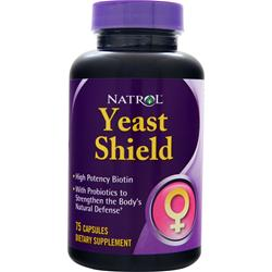 NATROL Yeast  Shield 75 caps