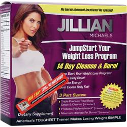 THIN CARE INTERNATIONAL Jillian Michaels 14 Day Cleanse & Burn 1 kit