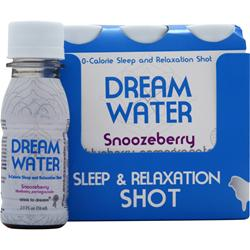 DREAM WATER Dream Shot Snoozeberry (Blue-Pom) 6 bttls