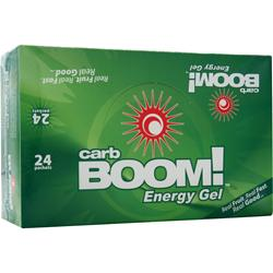 CARB BOOM Energy Gel Grape Pomegranate 24 pckts
