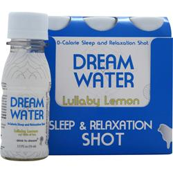 DREAM WATER Dream Shot Lullaby Lemon w/ Tea 6 bttls