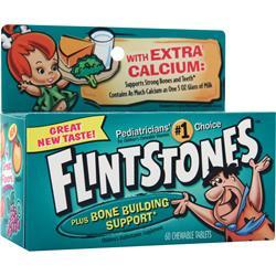 Bayer Healthcare Flintstones Plus Bone Building Support 60 tabs