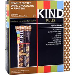PEACEWORKS KIND Plus Protein Bar Peanut Butter Dark Choc 12 bars