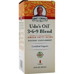 FLORA Udo's Choice Udo's Oil 3-6-9 Blend Liquid 8.5 fl.oz