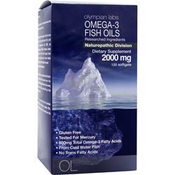 OLYMPIAN LABS Omega-3 Fish Oils 120 sgels