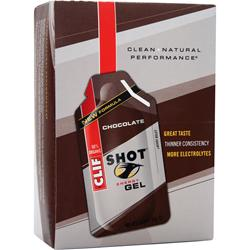 CLIF BAR Clif Shot Chocolate 24 pckts