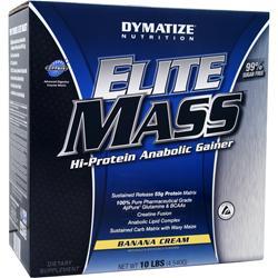 DYMATIZE NUTRITION Elite Mass Banana Cream 10 lbs