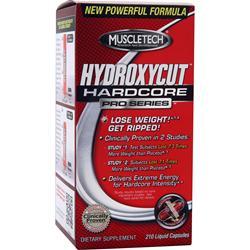 MUSCLETECH Hydroxycut Hardcore Pro Series 210 caps