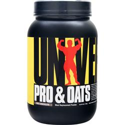 Universal Nutrition Pro & Oats Rich Chocolate 3 lbs