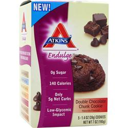 Atkins Endulge Cookies Double Chocolate Chunk 5 pckts