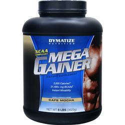 Dymatize Nutrition Mega Gainer Cafe Mocha 8 lbs