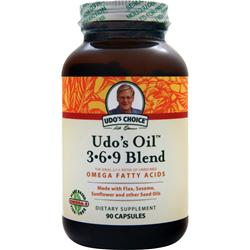 Flora Udo's Choice Udo's Oil 3-6-9 Blend 90 caps