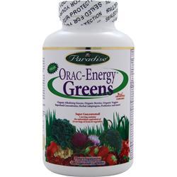 PARADISE HERBS Orac-Energy Greens 120 vcaps