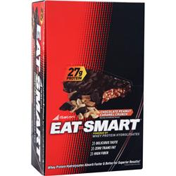 ISATORI Eat Smart Bar Chocolate Peanut Caramel 9 bars