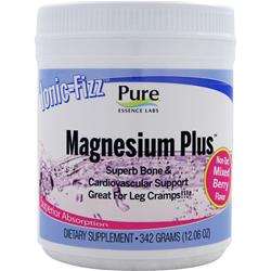 PURE ESSENCE LABS Ionic-Fizz Magnesium Plus Non-Tart Mixed Berry 342 grams