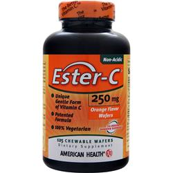 AMERICAN HEALTH Ester-C (250mg) Chewable Orange 125 wafrs