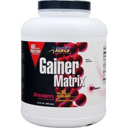 ISS RESEARCH Gainer Matrix Strawberry 8 lbs