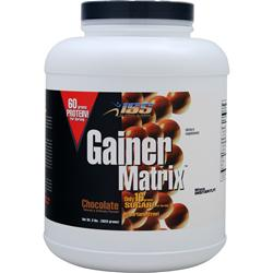 ISS Research Gainer Matrix Chocolate 8 lbs